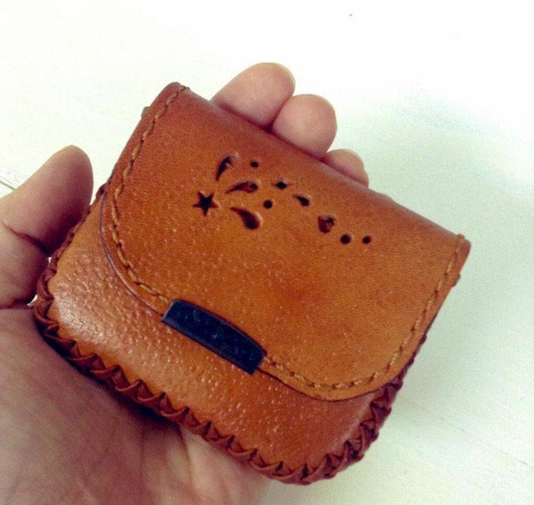 革のコインケース
